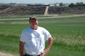 Terry Beller, one of the most passionate, caring cattle feeders you'll ever meet.