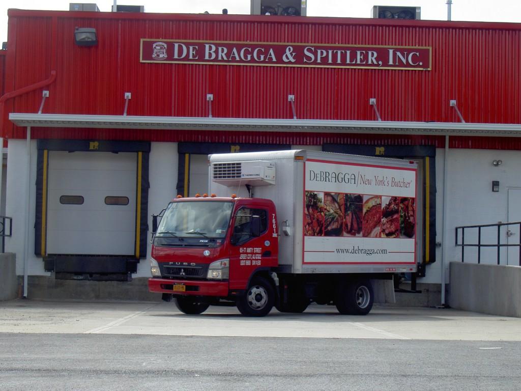 bright loading dock w truck 063