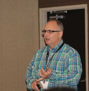 Geof Bedner, CAB international director