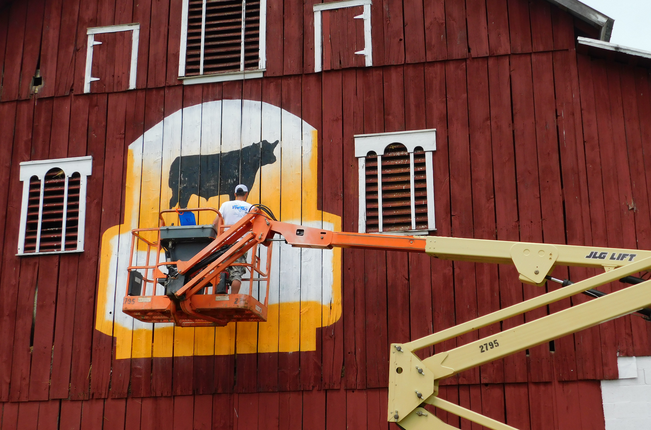 Brand the Barn for Black Ink