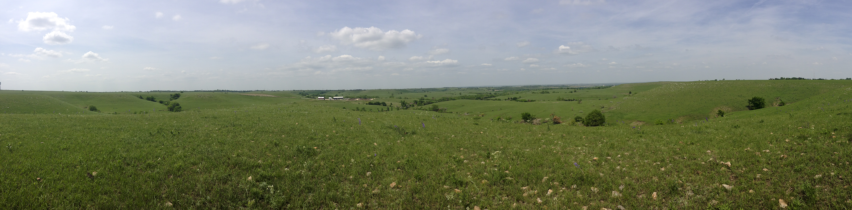 My university's Beef Stocker Unit runs its Kansas State research trails amidst my favorite landscape — the Flint Hills.