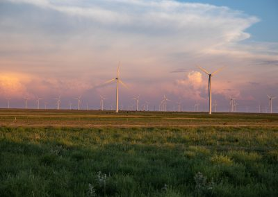 West Texas windmills